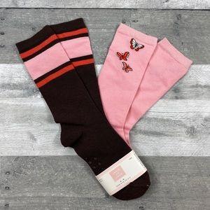 Janie Jack autumn classic knee high socks 6-8